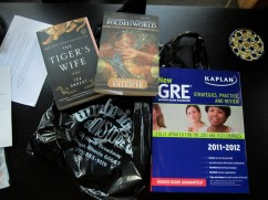 The spoils: Books from a trip to Unabridged