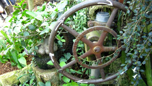 Greenhouse wheel