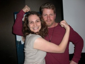 Michael Cudlitz (Bull Randleman) and I can do it!